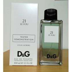 Dolce & Gabbana Anthology 21 Le Fou 100 edt (tester)