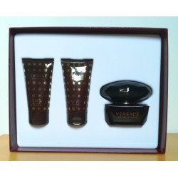 Versace Crystal Noir 50edt SET (50edt + 50ml shower gel + 50ml body lotion)