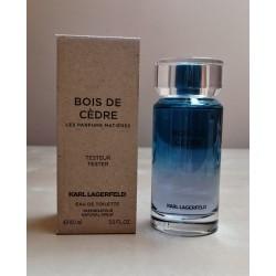 Karl Lagerfeld Les Parfums Matieres Bois De Cedre 100 edt (tester)