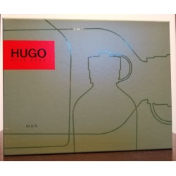 Hugo Boss Hugo Man (zielony) SET (125edt + 150 Dezodorant + 50ml Żel)