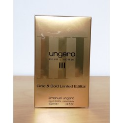 emanuel ungaro Pour L'Homme III Gold & Bold Limited Edition 100edt