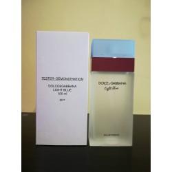 Dolce & Gabbana light blue 100 edt (tester)