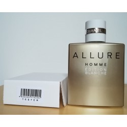 Chanel ALLURE Homme Edition Blanche 100 edt(tester)