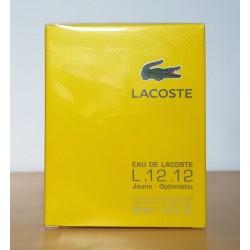 Lacoste 12.12 Jaune(Yellow) 100edt